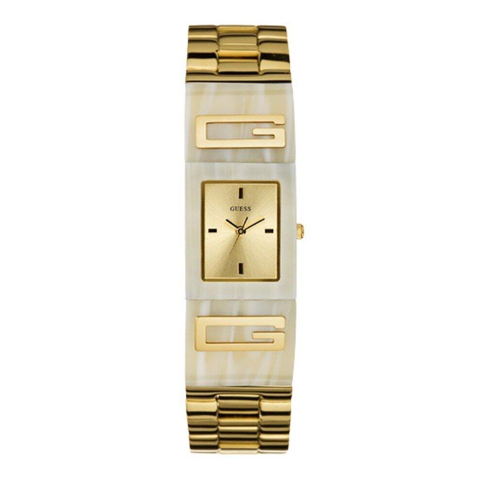 Dámske zlaté náramkové hodinky Guess  5cfe37628eb
