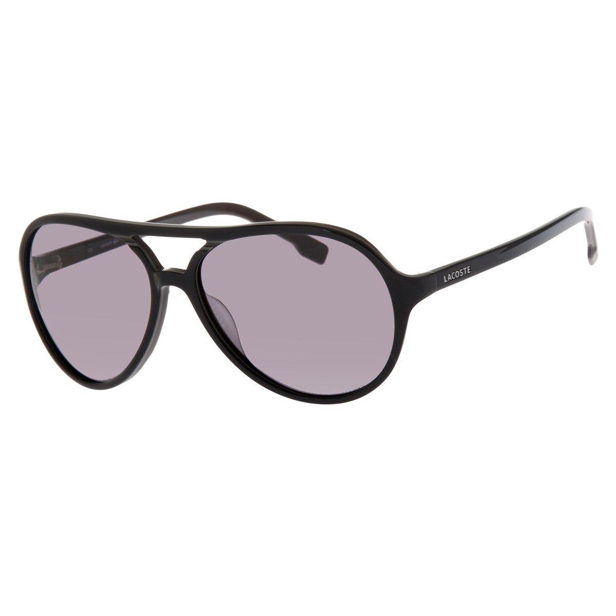 Dámske čierne slnečné okuliare Lacoste s polarizovanými sklami ... 3d117359e20