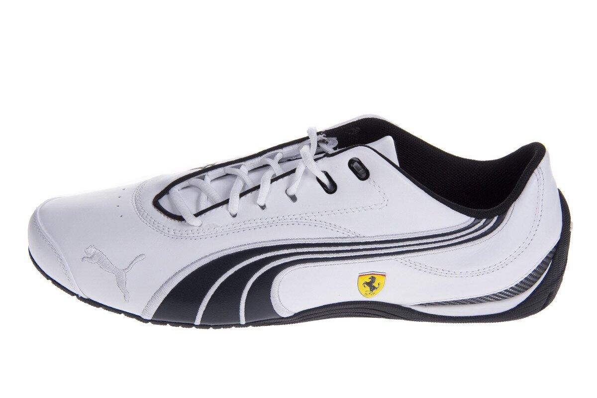 Pánske biele tenisky Puma Ferrari s čiernymi detailami 456957293f0