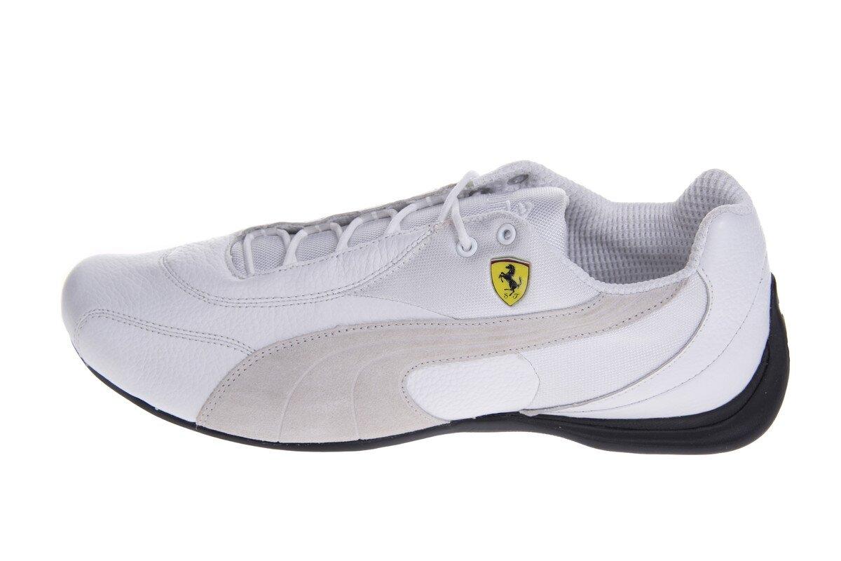 3a5ef1fc4f Pánske biele tenisky Puma Ferrari