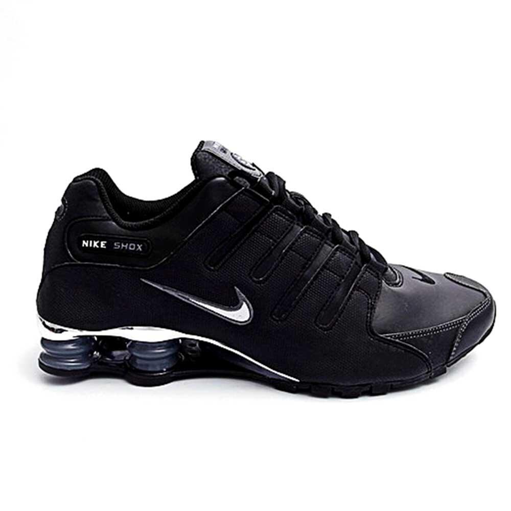 Pánske čierne športové tenisky Nike Shox  0bfa0711aff