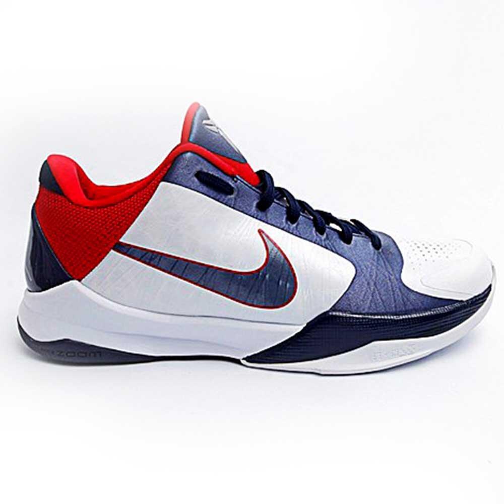 Pánske modro-bielo-červené tenisky Nike Kobe 6e2b27a17a1