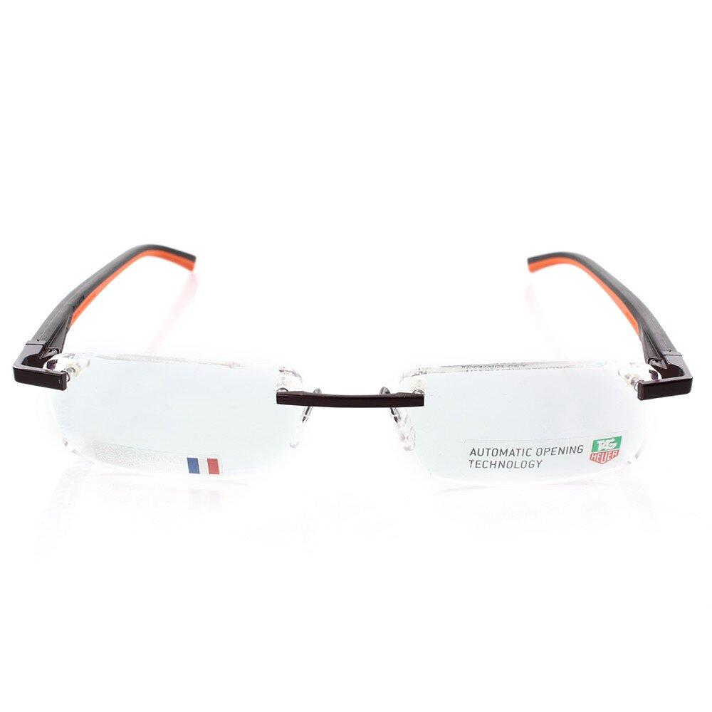 dbd45c5b3 Designové okuliare Tag Heuer s hnedo-oranžovými stranicami