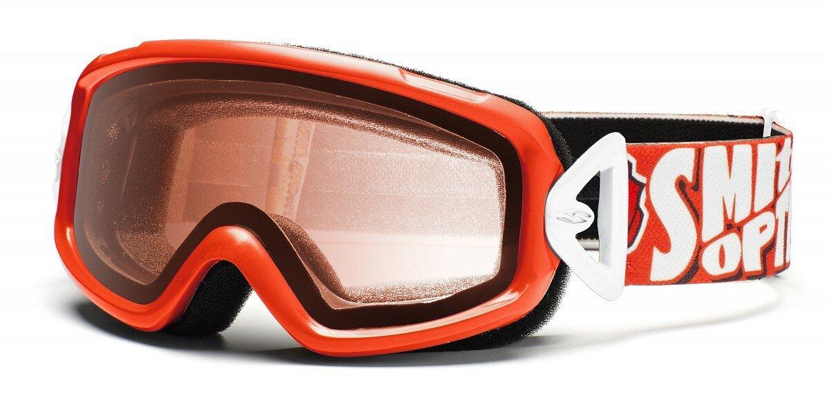 Detské oranžové lyžiarske okuliare Smith Optics  3c5dcbd4a93