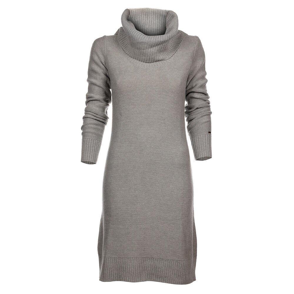 Dámske svetlo šedé pletené šaty Tommy Hilfiger b861b910e6