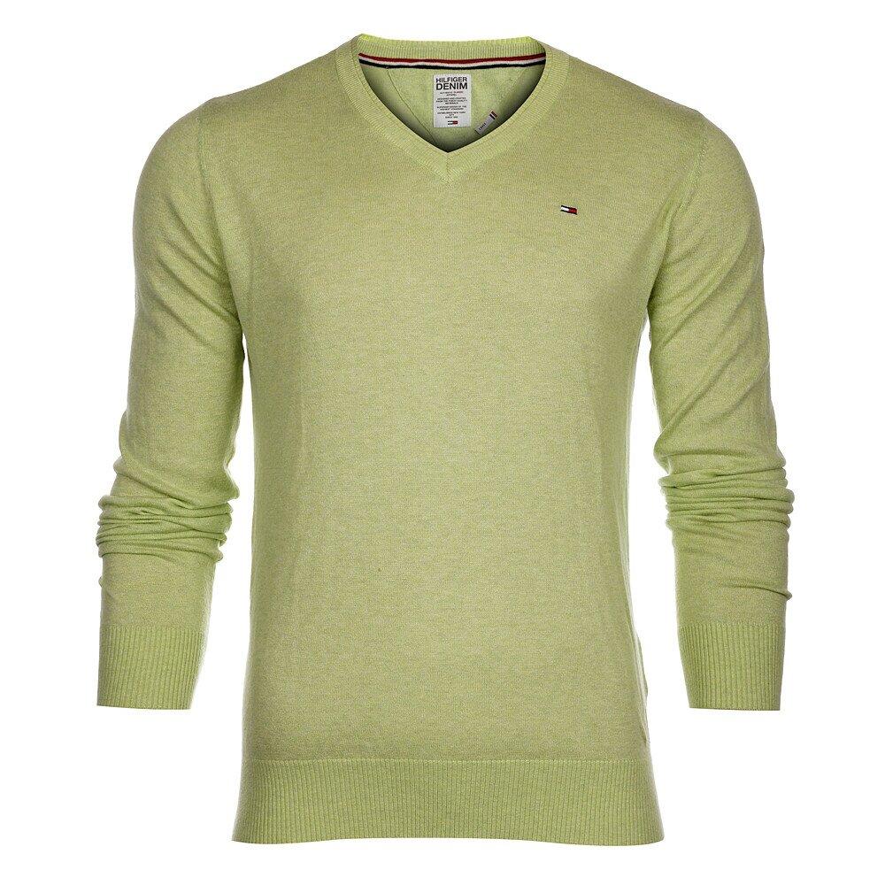 Pánsky svetlo limetkový sveter Tommy Hilfiger  3d01a88cd2c