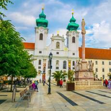 Benediktínsky kostol Sv. Ignáca z Loyoly, Győr