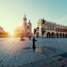 Hlavné námestie Krakov