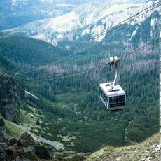 Lanovka - Kasprov vrch