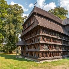 Artikulárny drevený kostol Hronsek