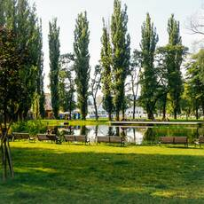 Mestský park v Košiciach