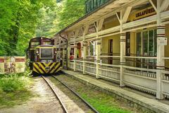 Lesná železnička - Lillafüred - Miskolc