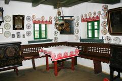Expozícia ľudovej architektúry a bývania v Martovciach