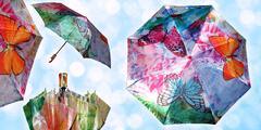 Talianske automatické skladacie dáždniky Grimaldi