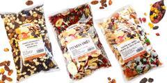 Vyladené zmesi orieškov, semienok a ovocia Pohoda