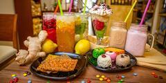 Letné osvieženie: limonáda, frappé či zmrzlinový pohár