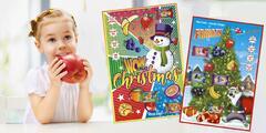 Zdravý adventný kalendár plný ovocných tyčiniek