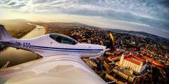 Zážitkový let s možnosťou pilotovania lietadla