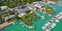 4* hotel na brehu Balatonu: polpenzia a neobmedzený vstup do wellness