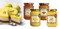 Ovocné krémy a džemy: citrón, káva, zázvor, karamel