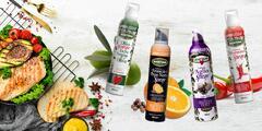 Prírodné a ochutené oleje v spreji na studenú aj teplú kuchyňu