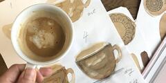 ONLINE KURZ maľovania kávou – 3 video lekcie