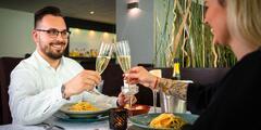 Súkromný vstup do Wellness SPA s večerou pre dvoch v hoteli Modena***