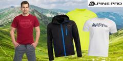 Pánske tričká, šortky i bunda od Alpine Pro