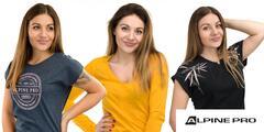 Nadčasové dámske tričká Alpine Pro