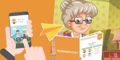 Zdieľajte so seniormi zážitky cez Rodinoviny