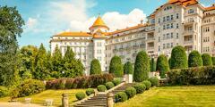 Skvelý oddych v Karlových Varoch: polpenzia, wellness i procedúry