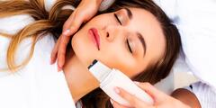 Hĺbkové čistenia pleti alebo masáž tváre