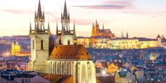 Pobyt v centre Prahy: strava, atrakcie i vstupy do pamiatkových budov