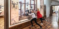 Vstup do Illusion Art Museum Prague