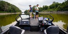 Zážitkový rybolov z člna na Dunaji so skúseným rybárom