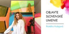 Akrylové maľby od slovenskej autorky Natálie Hulejovej