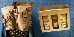 Degustačné sady prémiových káv z oceňovanej pražiarne