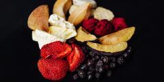 Lahodné mrazom sušené ovocie z celého sveta