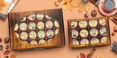 6 - 24 ks Darčekové balenia pečených ovocných čajov