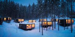 Vianočný alebo silvestrovský pobyt v unikátnych chatkách Tree Houses***