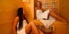 Oddýchnite si v privátnom wellness so saunou a vírivou vaňou