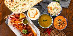 4-chodové degustačné menu pre dvoch v Indickej reštaurácii