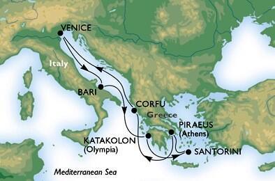 Luxusná plavba / Taliansko, Grécko, Chorvátsko | Zlavomat.sk