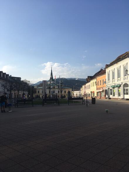 Dolný Kubín, Hviezdoslavovo námestie