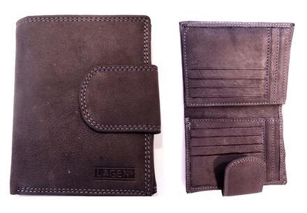 Značkové kožené peňaženky Lagen! Darčeková krabička a doprava ...