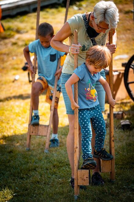 Nielen divadlo, ale aj veľa pohybu a atrakcií čaká deti počas festivalu. Foto: www.visitliptov.sk