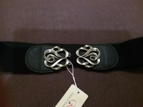 ec7698d9b Hodnotená ponuka: Dámské elastické opasky s kovovou sponou