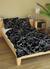 Vzor: Čierne kvety