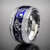 PRSTEŇ BLUE SILVER RING VINCITORE/15010B | 16 | Modrá