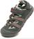 Detské trekové sandále ALPINE PRO BEDELI B | 28 | Svetlosivá